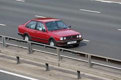 VW Polo CL (kenjonbro) Tags: uk red england stone vw canon volkswagen kent 1988 mk2 polo derby cl dartford dartfordtunnel a282 thebrent worldcars dartfordrivercrossing kenjonbro canoneos5dmkiii canonef70200mm128l1siiusm f719nvx