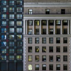 NYC...behind the windows (Blende1.8) Tags: new york nyc newyorkcity windows ny newyork night facade nightshot nacht fenster facades nachtaufnahme fassaden