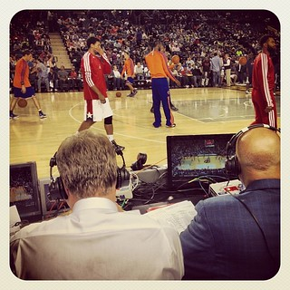 From Baltimore: Buckhantz & Chenier have perspective. #Wizards