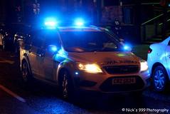 Northern Ireland Ambulance Service / CRZ 5624 / Ford Focus Estate / Rapid Response Vehicle / On Blue Lights (Nick 999) Tags: blue ireland ford lights focus call estate ambulance led vehicle leds service paramedics northern rapid response 999 sirens on nias crz 5624