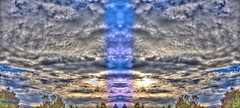 HDR Cloud Formation Montage (Walker Dukes) Tags: sanfrancisco california pink blue trees red urban white black green eye art nature beautiful yellow photoshop canon landscape gold grey experimental cityscape view purple faces gray cyan violet photograph mysterious highdefinition vista mystical sfbayarea trippy impressionistic 4thdimension photomatix abigfave altereduniverse highdefinitionresolution canons95