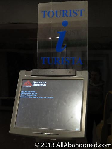 Tourist kiosk BIOS BSOD