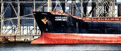 Bow--Bulk Hauler (PAJ880) Tags: sky boston river ma azure mystic bulk hauler