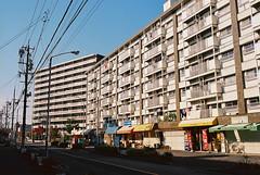 Japanese beautiful scene (tip-d) Tags: street camera city art film beautiful beauty japan lens photography alley kodak olympus scene snap nagoya  zuiko    om4ti