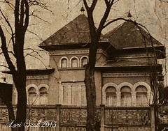 Neo-Romanian Cottage (Planet Love) Tags: house home cottage haunted romania bucharest romanian hauntedhouse neoromanian