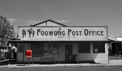 Poowong Post Office (phunnyfotos) Tags: red nikon postoffice australia postbox gippsland 1878 southgippsland poowong selectivelycoloured d5100 nikond5100 phunnyfotos gippypics