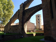 On the grounds of Basilica San Vitale (altamons) Tags: trip travel vacation italy holiday holidays europe unescoworldheritagesite ravenna genomics altamons