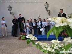 Eugenio Prati MostraPalazzoGeremia2002 Inaugurazione Mostra Bezzi 3