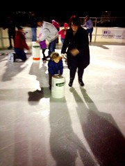 355 of 365 - on the ice ([ the black star ]) Tags: boy people woman 3 cold girl lady kid toddler iceskating things kingston stuff wife buckets adventures iceskates angela shrug goodtimes preschooler 355365 theblackstar threehundredfiftyfive thelittlemister uploaded:by=flickrmobile colorvibefilter flickriosapp:filter=colorvibe