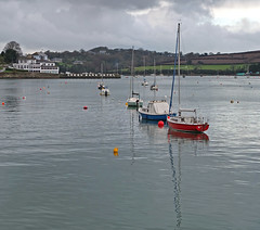 Falmouth: view from the Prince of Wales Pier upriver to the Greenbank Hotel (Tim Green aka atoach) Tags: cornwall falmouth
