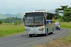 Sunbeam - FU.909 - Hino Legacy (NeshNaidu) Tags: sunset west bus classic fiji island pacific shore hino legacy sunbeam nadi kbl westbus fijibuses fijibus