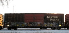 IMG_9994 (Youra Dick) Tags: winter minnesota train graffiti adm minneapolis sp boxcar freight mwcx