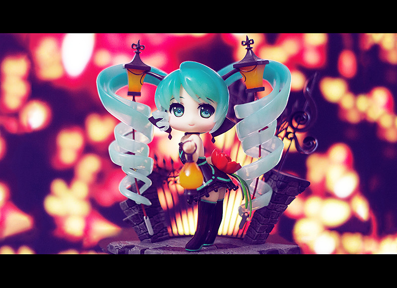 Miku✧ (Kinomi ✿) Tags: Anime Lamp Figure Miku Vocaloid