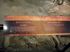 conflict creationmuseum (Photo: Kate Farina on Flickr)