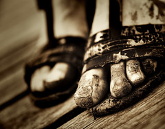 City Walk (rexboggs5) Tags: city feet mud walk australia dirt rockhampton queeensland flickrchallengegroup flickrchallengewinner thepinnaclehof tphofweek276 compstp02140914