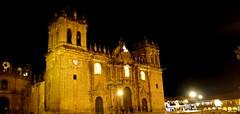 Catedral del Cusco (Qatsi Fisher) Tags: noche cusco sony catedral iglesia anochecer sonyslta58