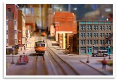 Diorama (bogray) Tags: classic model cut trains historic restored artdeco preserved streetcars museumcenter cincinnatiunionterminal cincinnatihistorymuseum cincinnatiinmotion