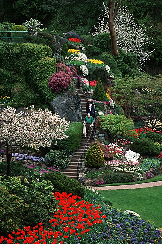 Butchart Gardens British Columbia Travel And Adventure Vacations