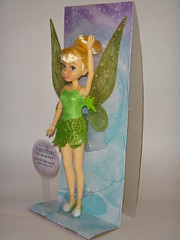 2014 Tinker Bell 10'' Flutter Wing Doll - Disney Fairies Classic Doll Collection - Disney Store Purchases - First Look - Deboxing - Attached to Backing - Full Right Front View (drj1828) Tags: us doll tinkerbell purchase disneystore firstlook 10inch deboxing disneyfairies flutterwings disneyfairiesclassicdollcollection