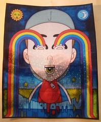 If you're Happy and you know it... 8x10 - 01/30/2014 (Mr. MumbleJinx) Tags: usa streetart art stickerart pittsburgh michigan stickers mumblejinx