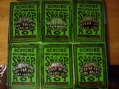 swamp rot (andres musta) Tags: andres musta zas swamp rot custom stickerart zombie art squad zombieartsquad stickers sticker adhesive andresmusta slaps