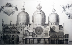 Elevation, Saint Mark's Basilica, Venice