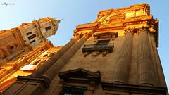 Catedral de Malaga (Alberto Jimnez Rey) Tags: sun sol catedral alberto manuel rey lucia martinez malaga contrapicado tapia jimenez albjr albjr7 alylu