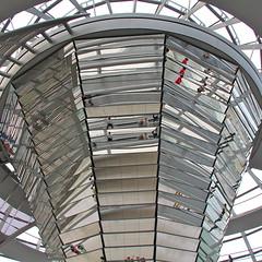 Reichstag Dome II (hansn (2+ Million Views)) Tags: reflection berlin architecture modern reflections germany square dom contemporary parliament architect reichstag normanfoster dome tyskland reflektion arkitektur riksdag riksdagen squarish arkitekt reflektioner