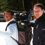 Jason Pires, CTV news, 2014 Keurig Cup at Grouse Mountain PHOTO CREDIT: John Preissl