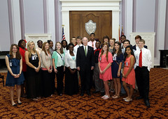 04-03-2014 Atmore Youth Leadership meet Governor Bentley