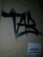 TAB krew (=BLEK=) Tags: graffiti donna tx tag graff swag tab rgv tabk flickrandroidapp:filter=none tabkrew