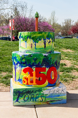 Forest Park Forever cake (Mike Matney Photography) Tags: cakes midwest stlouis birthdaycake april stl forestpark 2014 stl250