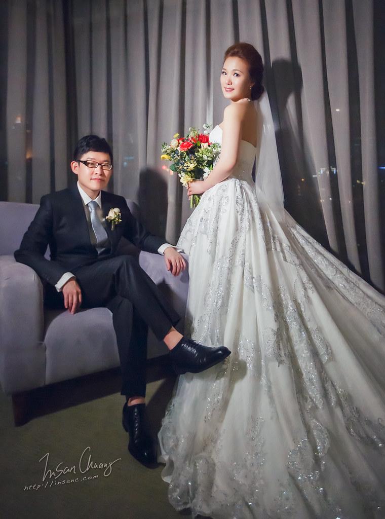 [婚攝英聖 婚禮記錄] Joe+Carol //婚宴@ {台北晶華酒店 }
