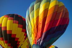 Balloon Festival (DJ Wolfman) Tags: blue red color michigan balloon olympus michiganfavorites hotairballoon grandrapids omd balloonfestival grandrapidsmi hudsonville olympusomd em5ii