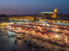 morocco marrakesh (Wizard CG) Tags: world sun set architecture night digital ed four market outdoor ngc olympus tourist morocco micro marrakesh attraction 43 thirds trekker m43 mzuiko
