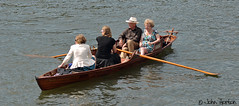 Henley Royal Regatta (2015) 28 - They're tell us our time is up! (Row 17) Tags: uk greatbritain summer england people thames river boats boat unitedkingdom event rivers gb rowing regatta riverthames henleyonthames thamesvalley