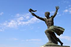 Liberty Monument, by Judith Katz, Citadella Park, Budapest, Hungary
