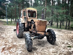 tractor (Alexey Tyudelekov) Tags: old tractor petersburg