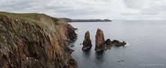Granite coast at Culswick (Kees Waterlander) Tags: coast scotland unitedkingdom gb granite shetland mainland graniet culswick