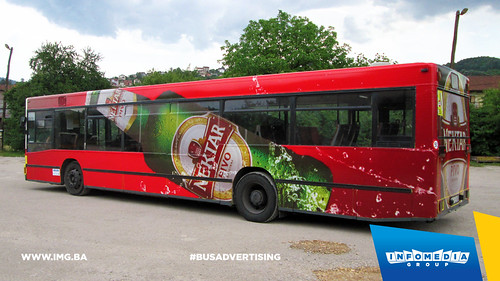 Info Media Group - Nektar pivo, BUS Outdoor Advertising, Banja Luka, Doboj 07-2015 (2)
