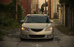 Mazda3 Alley (Nathan Peterson Photography) Tags: nikon mazda mazda3 corksport npetersonphoto
