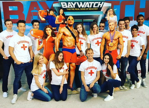Baywatch! #events #eventlife #staffing #bartenders #servers #lifegaurd #red #200ProofLA #200Proof