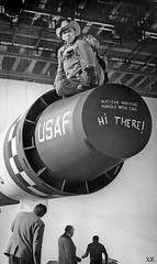 1964 ... Maj. Kong just hagin' out! (x-ray delta one) Tags: jamesvaughanphoto sac propaganda populuxe nuclear kiloton atomic airtoair aircraft aerospace atomicairplane atomicannihilation hydrogenbomb atomicbomb strategicaircommand departmentenergy nucleardeterent worldwar3