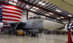 Crouching Cat (crusader752) Tags: vac valiantaircommand exusnavy usn unitedstatesnavy grumman f14a tomcat vf41 buaerno 161134aj114 blackaces aircraftcarrier ussjohnfkennedy tico florida museum aircraft jet swingwing fighter jetfighter