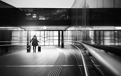 Moth into flame (Thierry Hudsyn) Tags: sony a6000 kitlens vienna airport street architecture mood reflections reflets