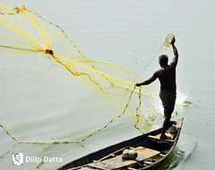 The man and his boat (Dilip Datta) Tags: boat man boatman themanhisboat river fishing dilipdattasphoto