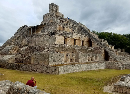 Edzna, Maya Archaeological Site in Mexico