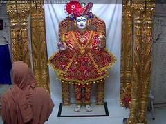 Ghanshyam Maharaj Rajbhog Darshan on Tue 21 Mar 2017 (bhujmandir) Tags: ghanshyam maharaj swaminarayan dev hari bhagvan bhagwan bhuj mandir temple daily darshan swami narayan rajbhog