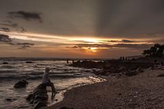 Enjoy Tanjung Layar Sunset! (Alexander Ipfelkofer) Tags: life longexposure travel sunset people seascape beach silhouette kids indonesia landscape rocks asia joy happiness contrejour sawarna banten tanjunglayar