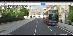 russel square londra - Google Maps (roberto gaioppa) Tags: bus london square for russel transport 7 terminal